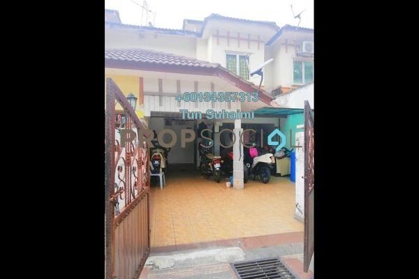 Terrace For Sale in Bandar Saujana Utama, Sungai Buloh Freehold Semi Furnished 4R/3B 375k