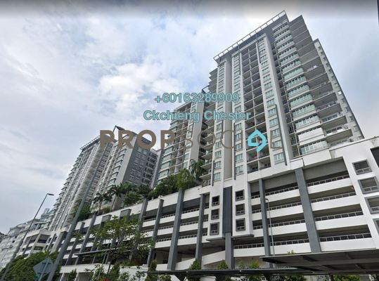 Condominium For Rent in Zenith Residences, Kelana Jaya Freehold Unfurnished 3R/2B 1.5k