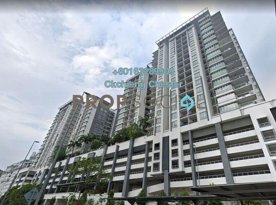 Serviced Residence For Rent in Zenith Residences, Kelana Jaya Freehold Unfurnished 3R/2B 1.5k