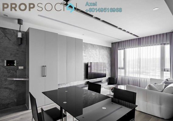 Condominium For Sale in Taman City, Jalan Kuching Freehold Fully Furnished 4R/3B 629k