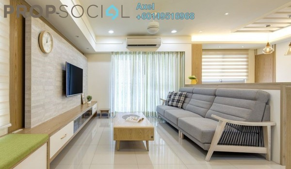 Condominium For Sale in Mont Kiara Aman, Mont Kiara Freehold Fully Furnished 4R/3B 639k