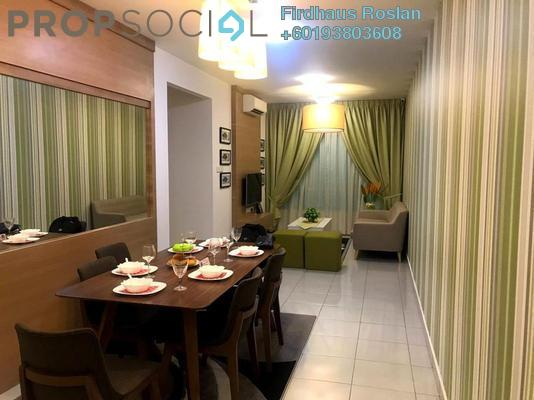 Apartment For Sale in Aspire Residence, Cyberjaya Freehold Unfurnished 3R/2B 350k