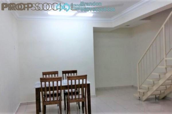 Terrace For Sale in Desa Setapak, Setapak Freehold Semi Furnished 3R/3B 450k