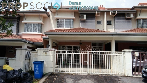 Terrace For Rent in Sunway Alam Suria, Shah Alam Freehold Semi Furnished 4R/3B 1.7k
