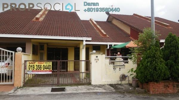 Terrace For Rent in Jade, Bandar Bukit Raja Freehold Semi Furnished 3R/2B 1k