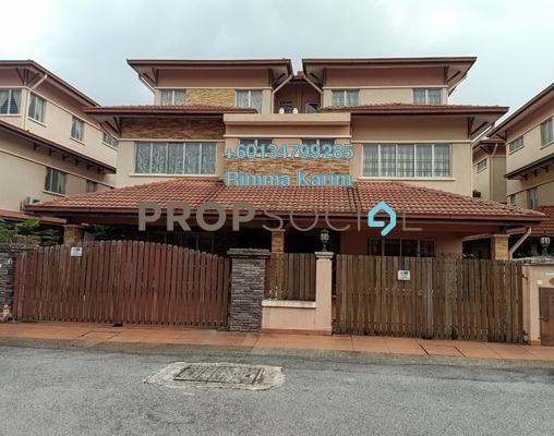 半独立式洋房 单位出售于 Dataran Pandan Prima, Pandan Indah Freehold Semi Furnished 5R/4B 1.7百万