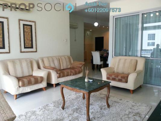 Serviced Residence For Rent in One Residency, Bukit Ceylon Freehold Fully Furnished 3R/2B 3.6k