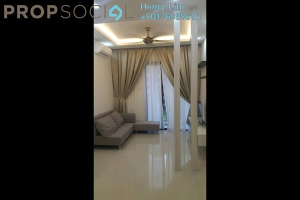 Serviced Residence For Rent in South View, Bangsar South Freehold Fully Furnished 2R/2B 2.4k
