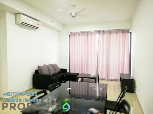 Condominium For Rent in i-City, Shah Alam Freehold Fully Furnished 2R/2B 1.8k