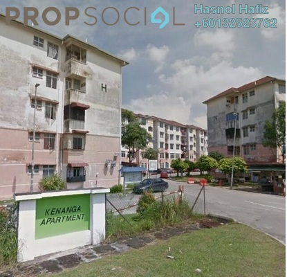 Apartment For Sale in Kenanga Apartment, Pusat Bandar Puchong Freehold Unfurnished 3R/2B 200k