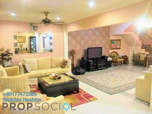 Terrace For Sale in Bandar Saujana Utama, Sungai Buloh Freehold Fully Furnished 4R/3B 460k