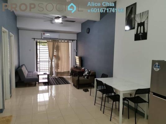Townhouse For Rent in Taman Selesa Jaya, Skudai Freehold Fully Furnished 3R/2B 1.35k