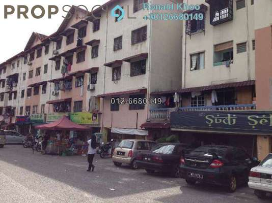 Shop For Sale in Harmoni Apartment, Damansara Damai Leasehold Unfurnished 0R/0B 355k