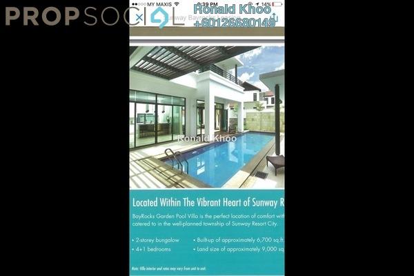 Villa For Rent in BayRocks, Bandar Sunway Freehold Fully Furnished 4R/5B 11k