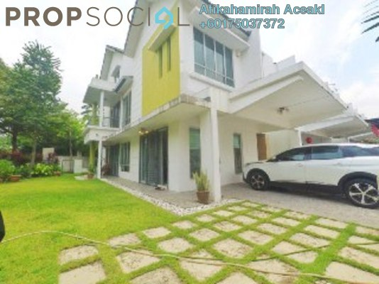 Terrace For Sale in The Oasis, Cheras South Freehold Semi Furnished 7R/6B 1.6m