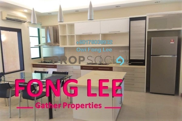 Townhouse For Rent in Tanjung Park, Tanjung Tokong Freehold Fully Furnished 3R/3B 2.9k