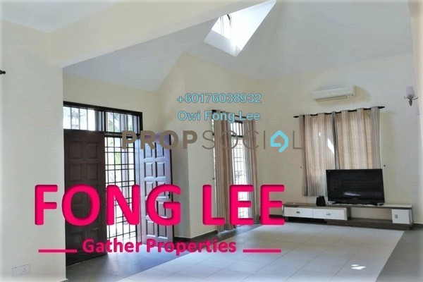 Bungalow For Rent in Ferringhi Villas, Batu Ferringhi Freehold Semi Furnished 3R/2B 3k