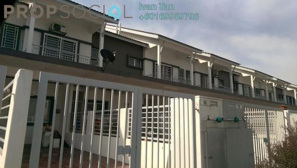 Townhouse For Rent in Taman Putra Perdana, Puchong Leasehold Semi Furnished 4R/2B 1.1k