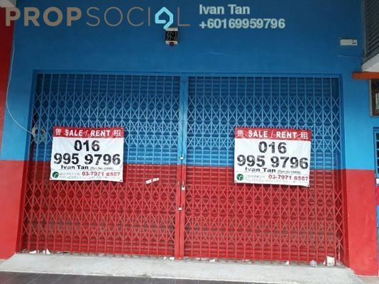 Shop For Rent in Kemuning Utama Commercial Centre, Kemuning Utama Freehold Unfurnished 0R/2B 2.5k