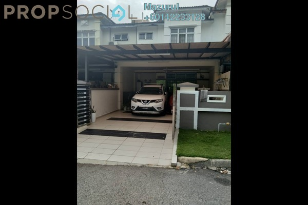 Terrace For Sale in Taman Pulai Indah, Pulai Freehold Semi Furnished 4R/3B 495k