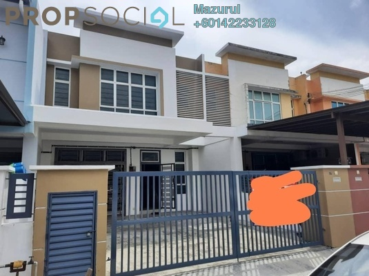 Terrace For Sale in Taman Pulai Indah, Pulai Freehold Unfurnished 4R/3B 495k