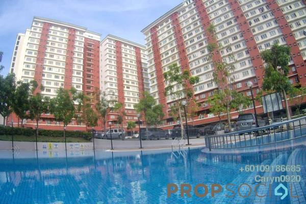 Condominium For Rent in The Lumayan, Bandar Sri Permaisuri Freehold Fully Furnished 3R/2B 1.5k