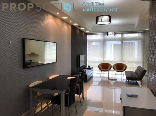 Serviced Residence For Rent in One Residency, Bukit Ceylon Freehold Fully Furnished 1R/1B 2.6k