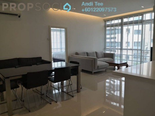 Serviced Residence For Rent in One Residency, Bukit Ceylon Freehold Fully Furnished 3R/2B 4.5k