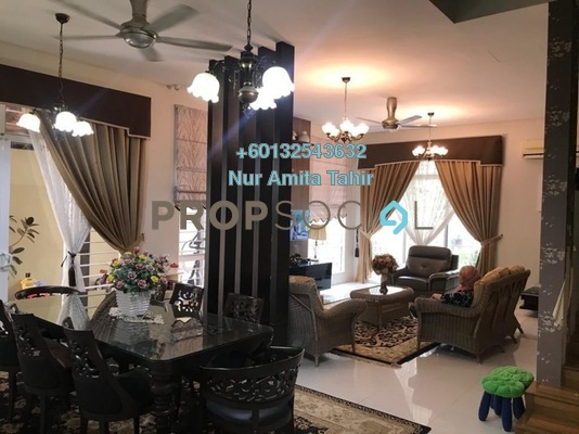 Bungalow For Sale in Section 4, Shah Alam Freehold Fully Furnished 7R/6B 1.8m