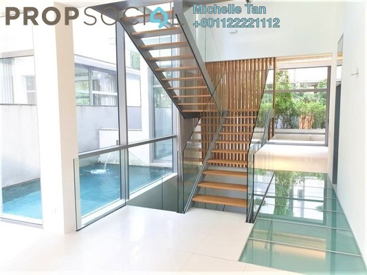 Villa For Rent in The Edge Of U Thant, Ampang Hilir Freehold Semi Furnished 4R/5B 15k