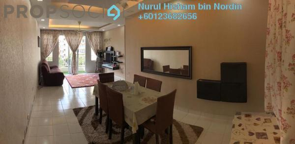 Apartment For Sale in De Rozelle, Kota Damansara Freehold Unfurnished 3R/2B 395k