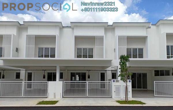 Terrace For Sale in Hessa @ Tiara Sendayan, Bandar Sri Sendayan Leasehold Semi Furnished 4R/2B 380k