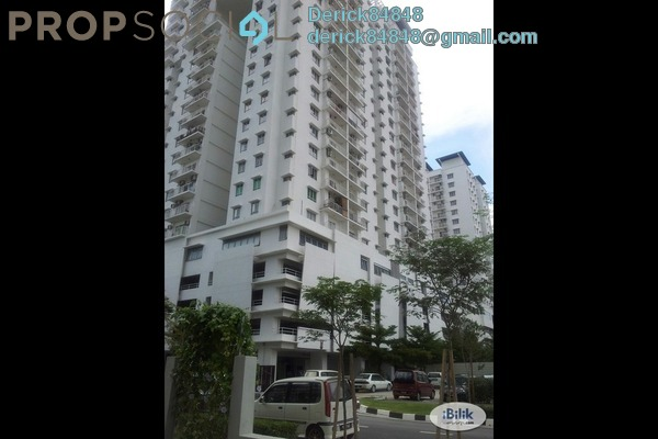 Condominium For Rent in Park View Tower, Butterworth Freehold Fully Furnished 3R/2B 1.8k