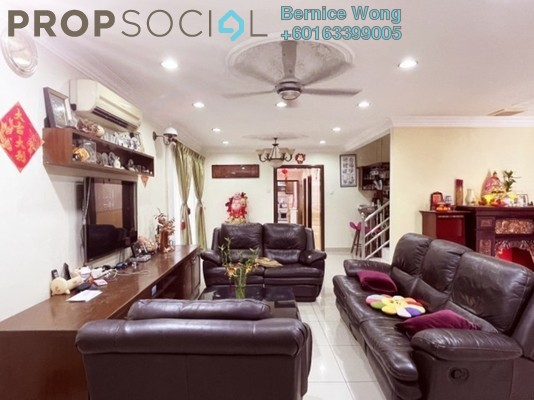 Terrace For Sale in Bayu Damansara, Kota Damansara Freehold Semi Furnished 4R/4B 1.7m