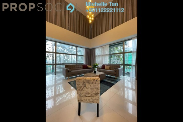 Duplex For Rent in Le Nouvel, KLCC Freehold Fully Furnished 2R/2B 12k