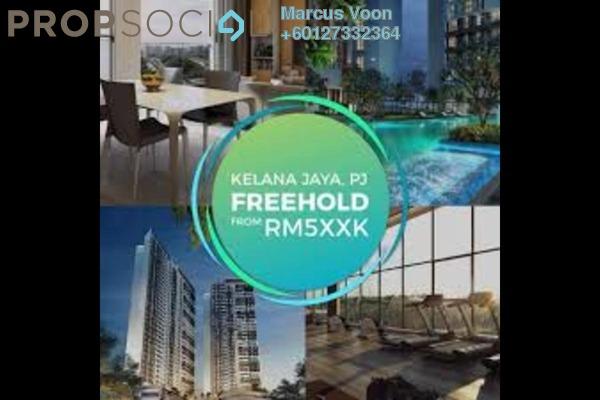 Condominium For Sale in Panorama Residences, Kelana Jaya Freehold Semi Furnished 2R/2B 553k