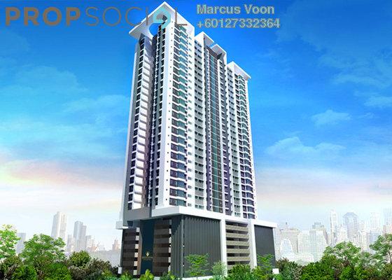 Condominium For Sale in Berlian Residence @ Setapak, Kuala Lumpur Leasehold Semi Furnished 3R/2B 437k