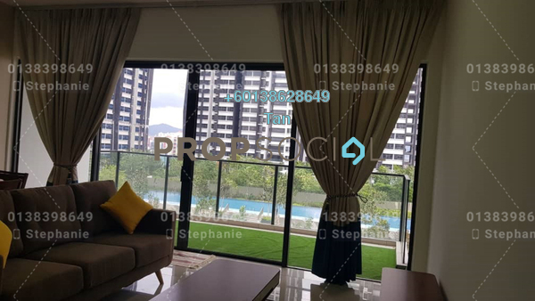 Serviced Residence For Rent in Lakeville Residence, Jalan Ipoh Freehold Fully Furnished 3R/2B 2.6k