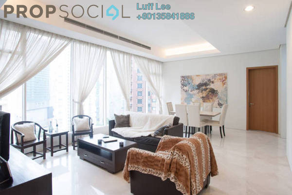 Condominium For Rent in Vipod Suites, KLCC Freehold Fully Furnished 3R/2B 4.8k