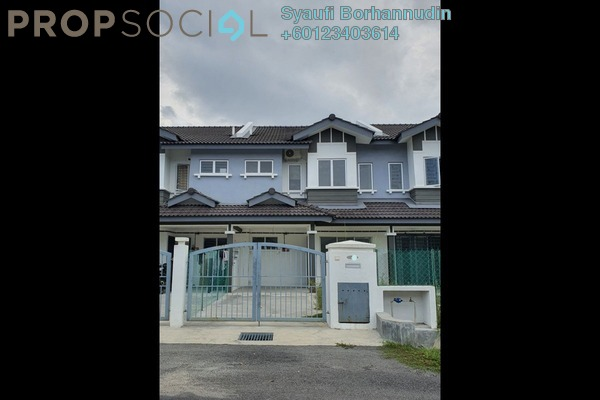 Terrace For Sale in Idaman Warisan, Alam Perdana Leasehold Unfurnished 4R/3B 410k