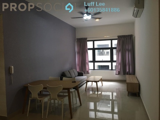 Condominium For Rent in Lakeville Residence, Jalan Ipoh Freehold Fully Furnished 3R/2B 1.8k