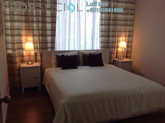 Condominium For Sale in Summer Suites, KLCC Freehold Fully Furnished 2R/2B 1.04m