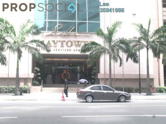 Condominium For Sale in Maytower, Dang Wangi Freehold Fully Furnished 0R/1B 430k