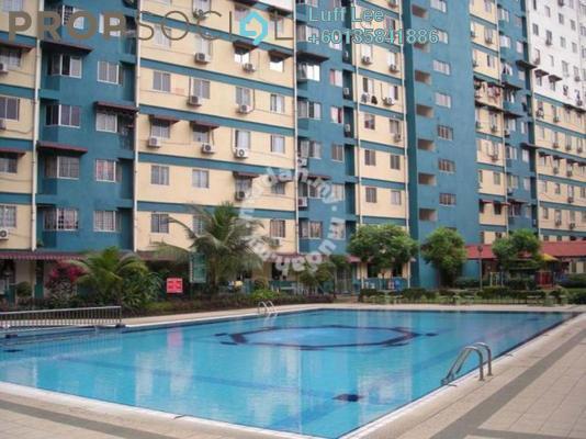 Condominium For Sale in Vista Serdang Apartment, Seri Kembangan Freehold Semi Furnished 3R/2B 240k