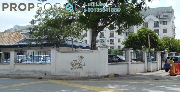 Condominium For Sale in Tiara Duta, Ampang Leasehold Fully Furnished 3R/2B 420k
