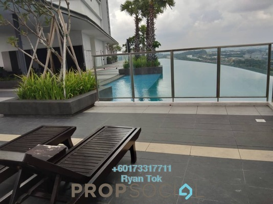 Serviced Residence For Sale in i-City, Shah Alam Freehold Fully Furnished 1R/1B 390k
