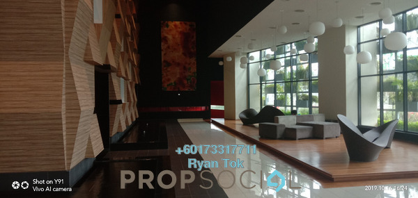 Condominium For Sale in TRiGON Luxury Residences @ Setia Walk, Pusat Bandar Puchong Freehold Fully Furnished 2R/2B 630k