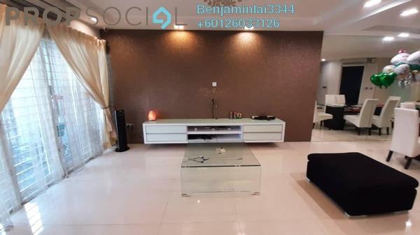Terrace For Rent in BU6, Bandar Utama Freehold Fully Furnished 5R/4B 3.8k