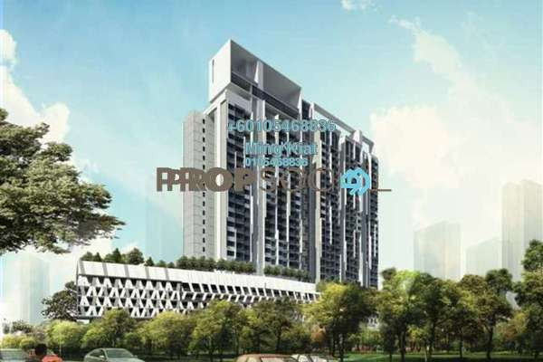 SoHo/Studio For Sale in The Pano, Sentul Leasehold Unfurnished 0R/1B 515k