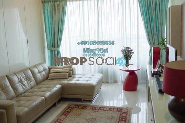 Condominium For Sale in 3 Residen, Melawati Freehold Fully Furnished 3R/2B 800k